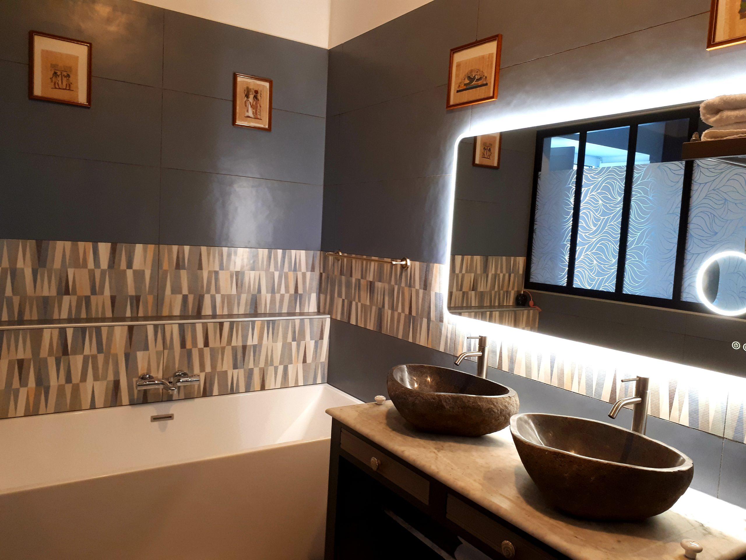 salle-de bain des voyageurs-Domaine de Garat