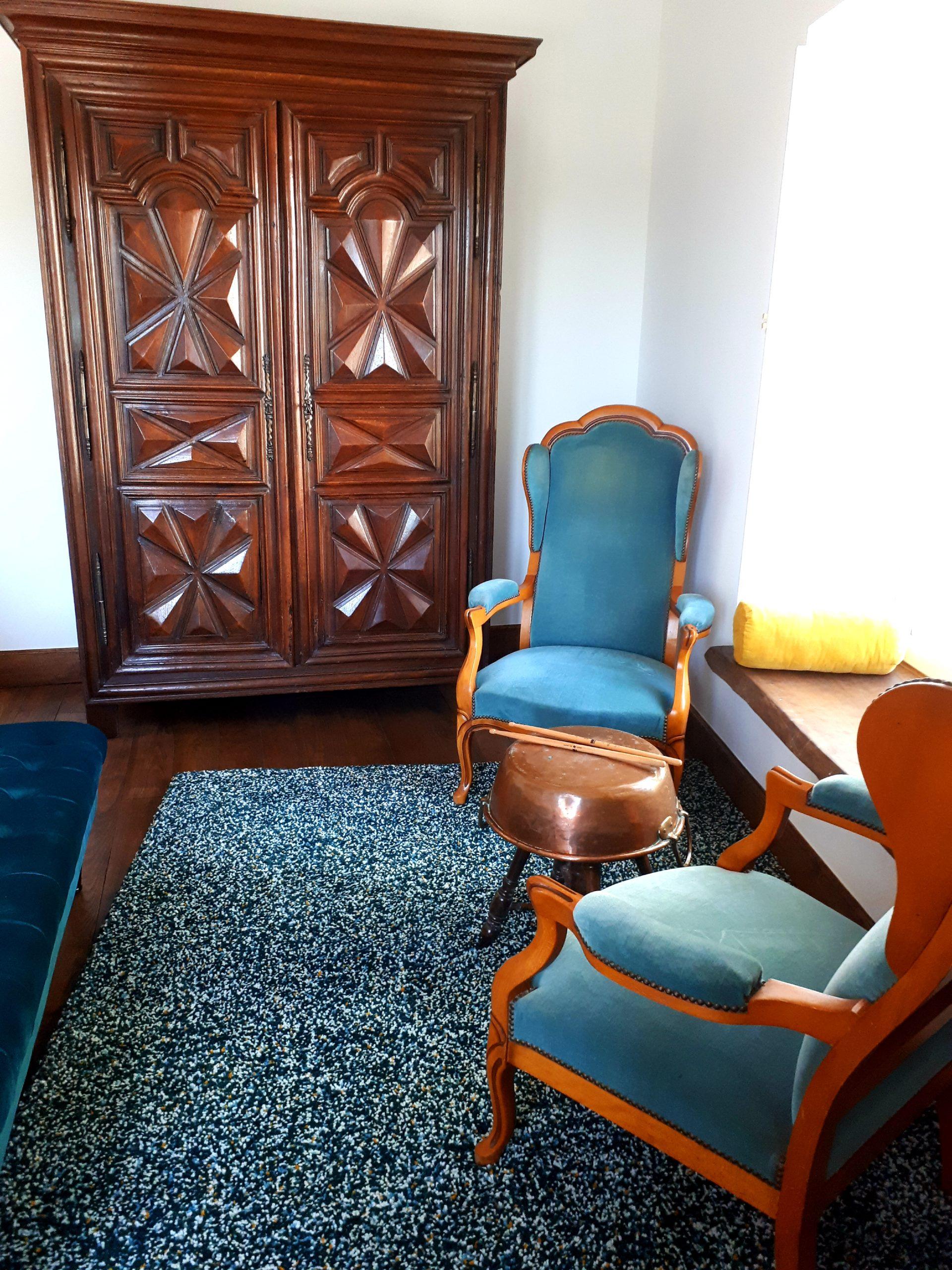 salon chambre des Artistes - Domaine de Garat